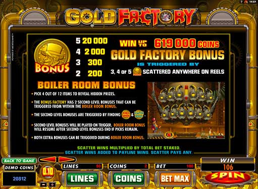 Gold Factory | Euro Palace Casino Blog