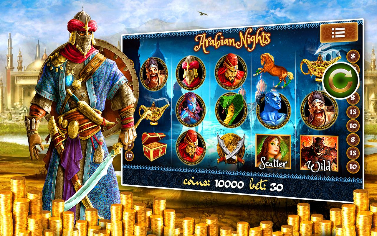 Arabian Nights Spielgrundlagen