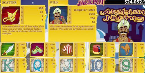 SLOTS - Arabian Nights_2